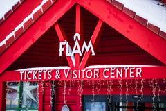 Flam铁路 库存照片