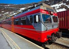 Flam, Bergen, Oslo train, Norway Stock Photo