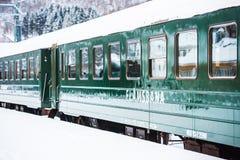 Flam järnväg Arkivbild