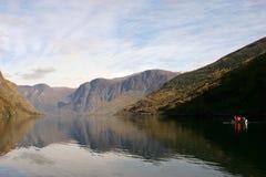 Flam - Noorwegen stock fotografie