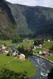 Flam Noorwegen Scandinavië Royalty-vrije Stock Foto's