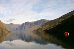 Flam - norway Stock Photography
