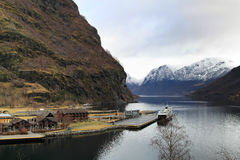 Flam, Norway Royalty Free Stock Photography