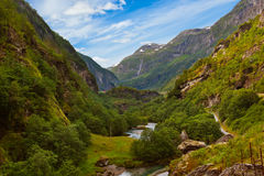 Flam in Norway Stock Photos
