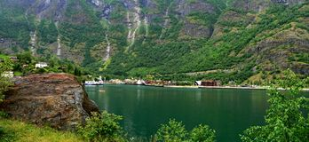 Flam-port Royalty Free Stock Image
