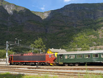 Flam Railway Royalty Free Stock Images