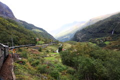 Flam railway Stock Photography