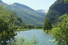 Flam River Stock Images