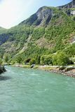 Flam River Stock Photography