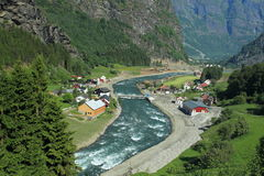 Flam valley Royalty Free Stock Photos