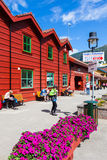 Flam Visitor Center Stock Image
