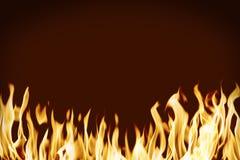 Flama Fotografia de Stock