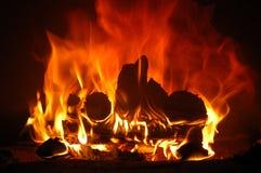 A flama Imagens de Stock