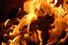 A flama Fotografia de Stock Royalty Free