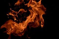 Flama #3 Foto de Stock