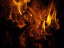 A flama Imagem de Stock