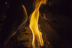 flama foto de stock