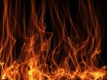 Flama abstrata ilustração stock