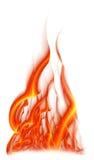 Flama brilhante ilustração royalty free