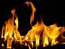 Flama da dança Fotos de Stock Royalty Free