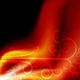 Flama da energia do plasma ilustração do vetor