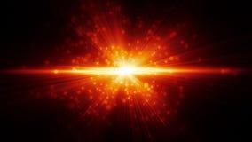 Flama de la lente ilustración del vector