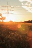 Flama de la lente Imagen de archivo libre de regalías
