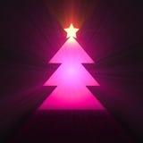 Flama de la luz del árbol de navidad libre illustration