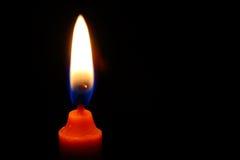 Flama de vela Fotografia de Stock