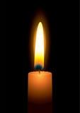 Flama de vela brilhante ilustração do vetor