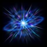 Flama del espacio ilustración del vector