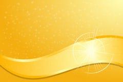 Flama del oro stock de ilustración