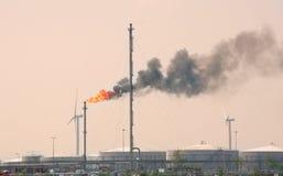 Flama del petróleo imagenes de archivo