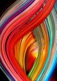Flama do arco-íris Foto de Stock Royalty Free