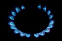 Flama do gás ilustração stock