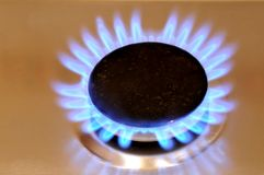 Flama do gás Fotos de Stock