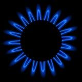 Flama do gás natural ilustração royalty free