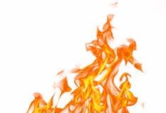 Flama do incêndio Fotografia de Stock Royalty Free