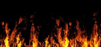 Flama do incêndio ilustração stock