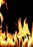 Flama do incêndio Fotografia de Stock
