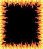 Flama do incêndio ilustração royalty free