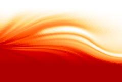 Flama do incêndio Fundo abstrato da onda do vetor ilustração royalty free