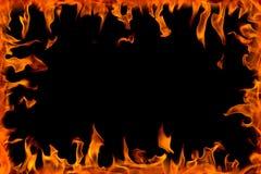 Flama do incêndio, isolada ilustração royalty free