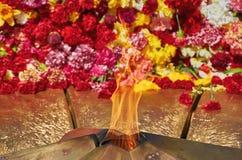 A flama eterno Fotos de Stock Royalty Free