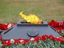Flama eterno Fotografia de Stock Royalty Free