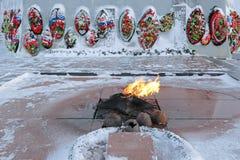 Flama eterno Foto de Stock Royalty Free