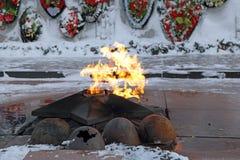 Flama eterno Imagem de Stock