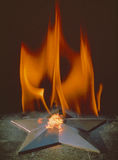 Flama eterno fotografia de stock
