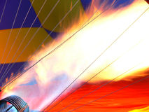 Flama grande Fotografia de Stock Royalty Free