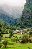 Flama w Norwegia Fotografia Royalty Free